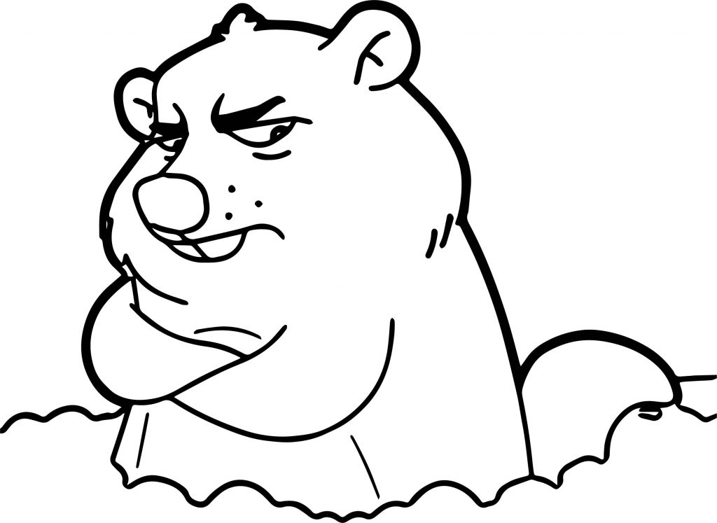 groundhog pictures to color groundhog day coloring pages kidsuki color pictures groundhog to
