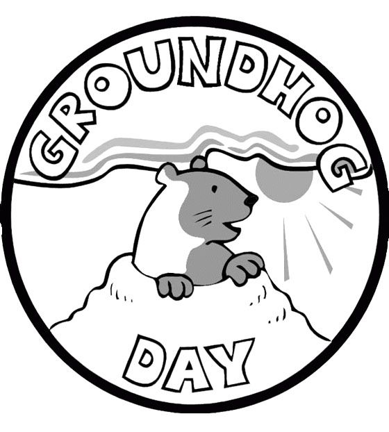 groundhog pictures to color groundhog pictures to print coloring home to color groundhog pictures