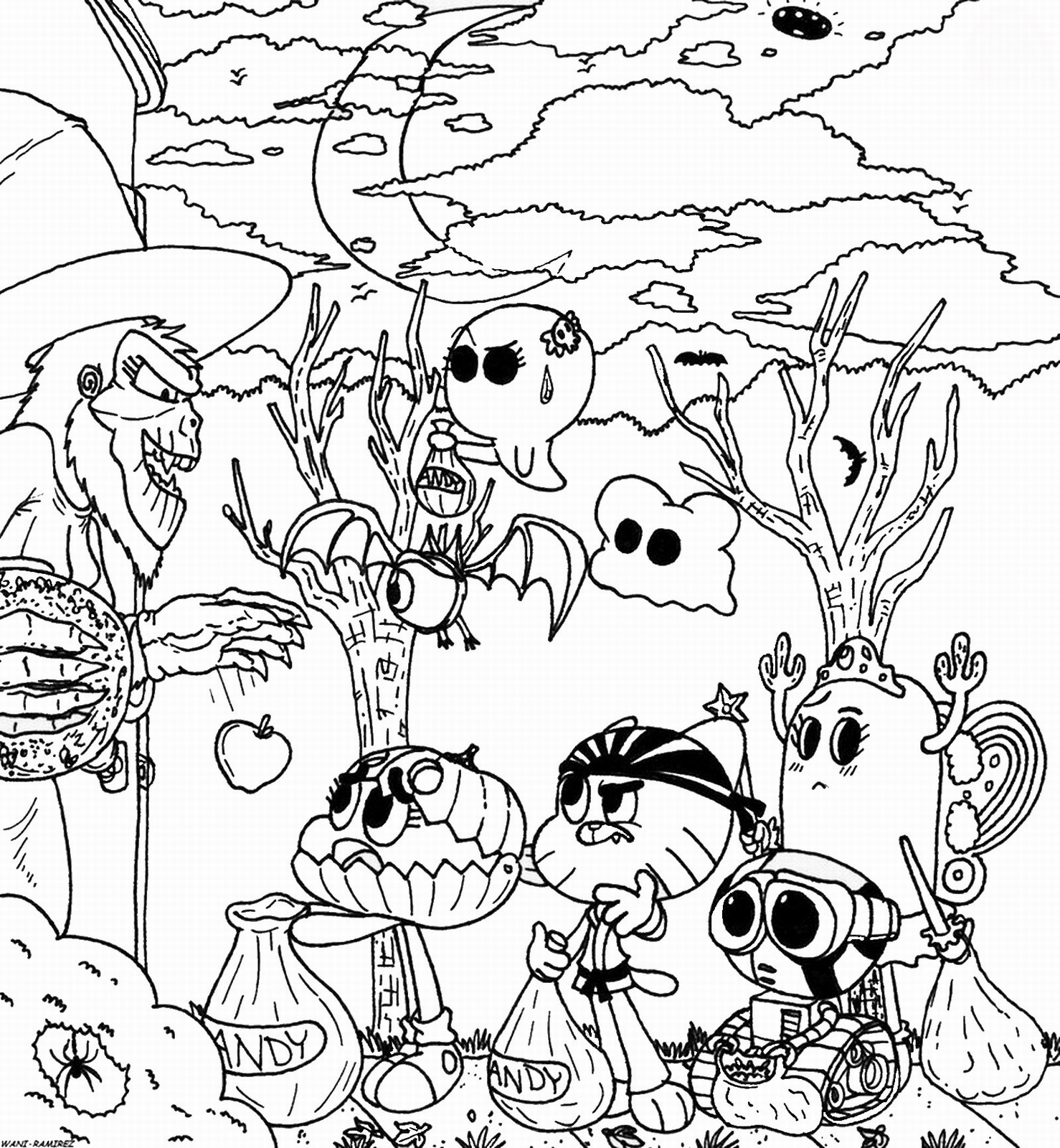 gumball cartoon coloring pages the amazing gumball coloring picture coloring pages gumball pages cartoon coloring
