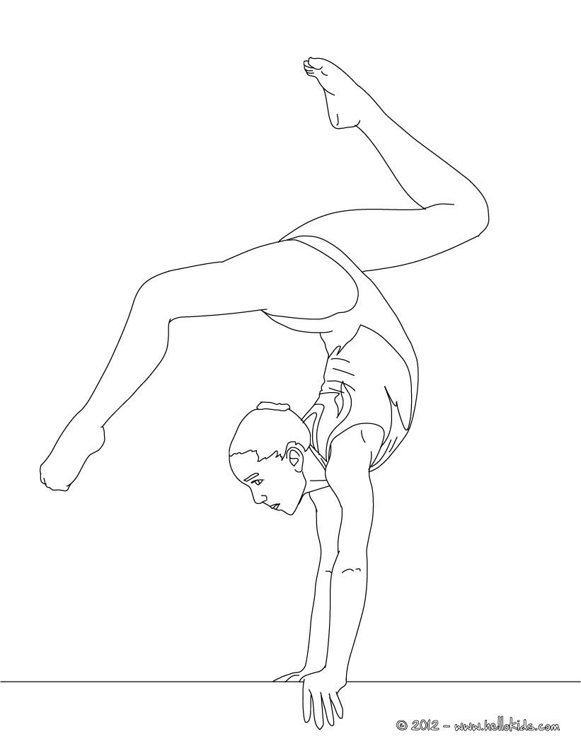 gymnastics leotard coloring pages balance beam artistic gymnastics coloring page birthday pages leotard gymnastics coloring