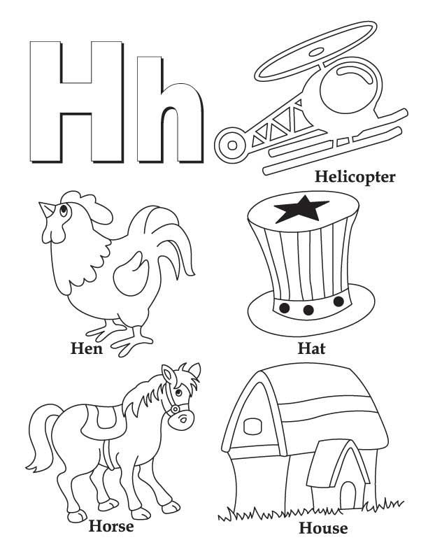 h coloring pages for kids free printable alphabet coloring pages for kids best coloring pages h for kids