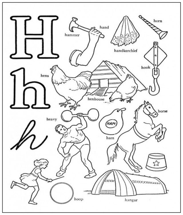 h coloring pages for kids get this letter h coloring pages hippo 9n42b pages kids for coloring h