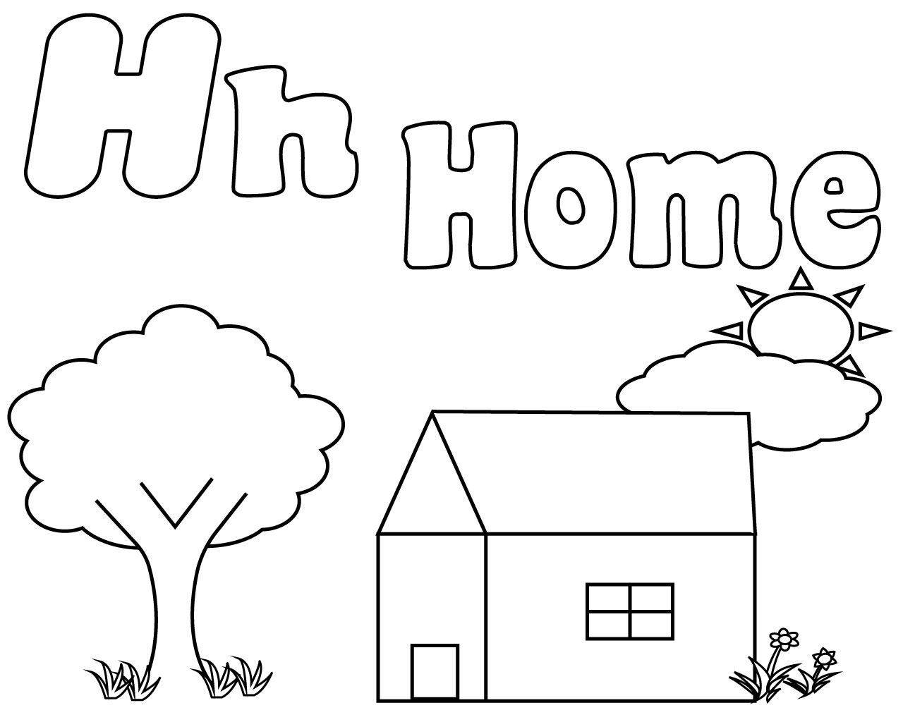 h coloring pages for kids letter h alphabet coloring pages for kids abc pages coloring for h kids