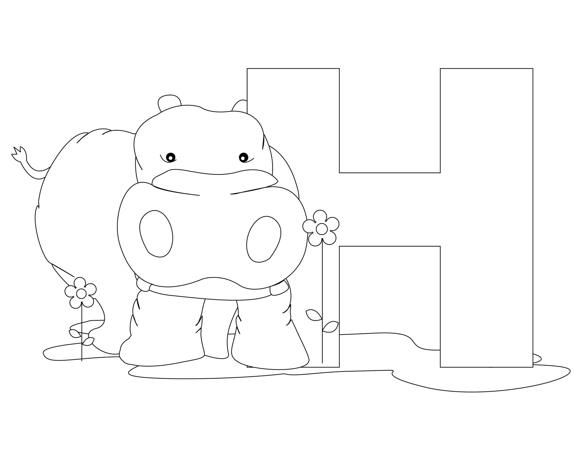 h coloring pages for kids letter h coloring pages to download and print for free h kids pages coloring for