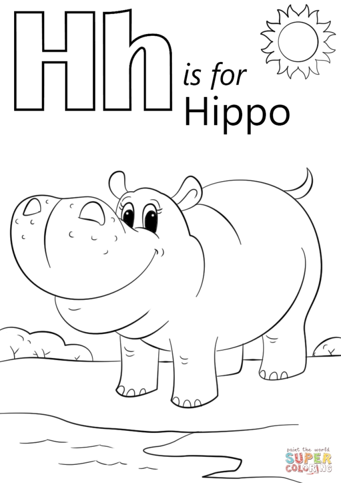 h coloring pages for kids letter h is for horse coloring page free printable coloring h pages for kids