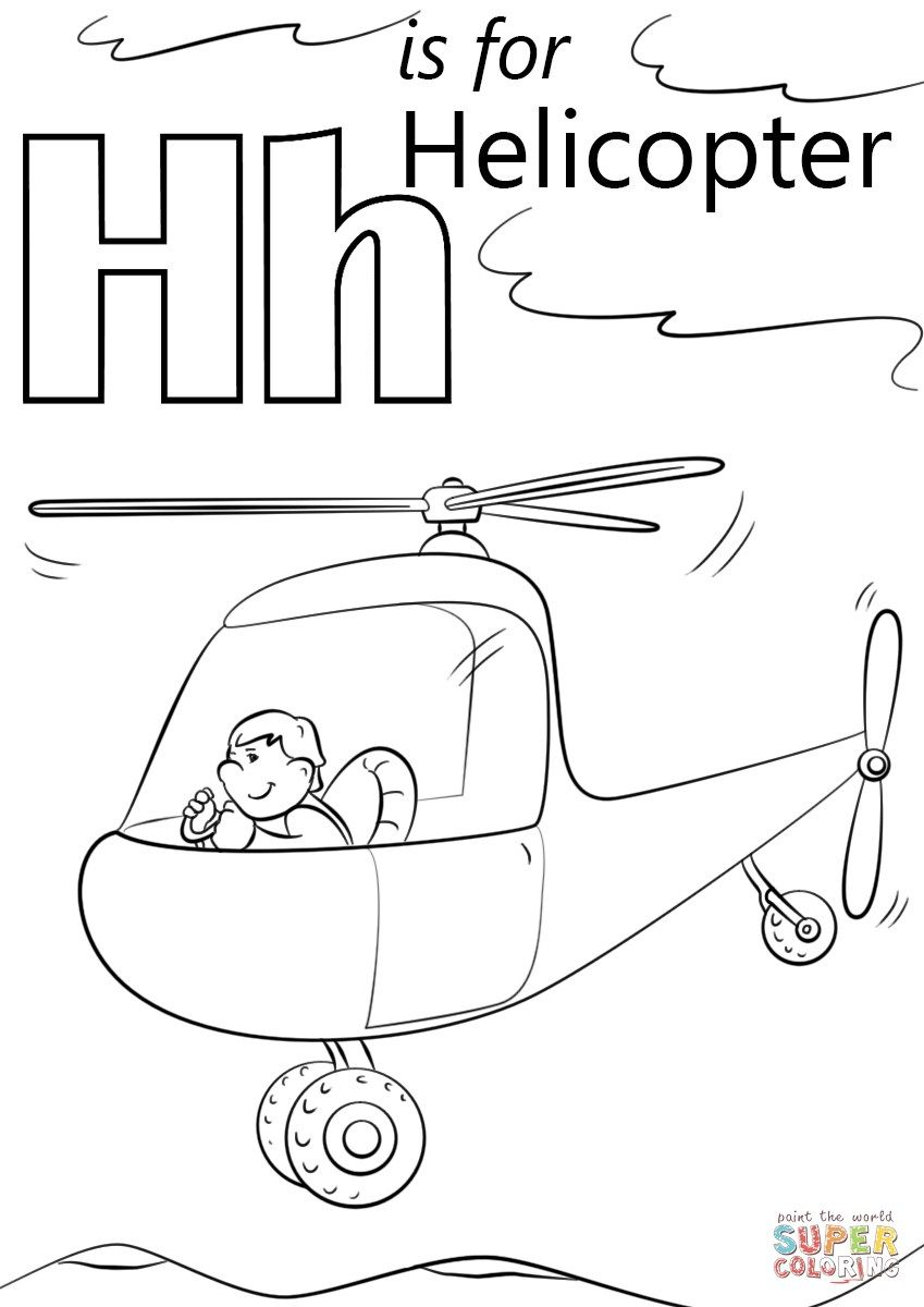 h coloring pages for kids letter h with plants coloring page free printable pages kids h coloring for