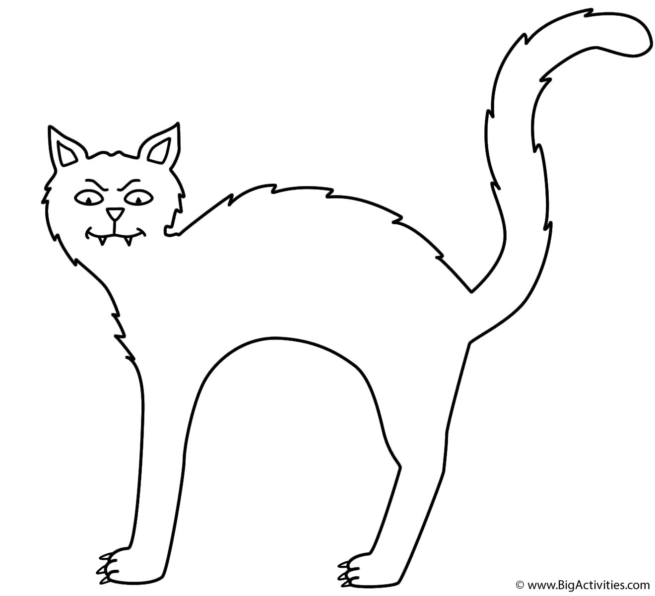 halloween cat coloring pages black cat coloring page halloween coloring pages halloween cat