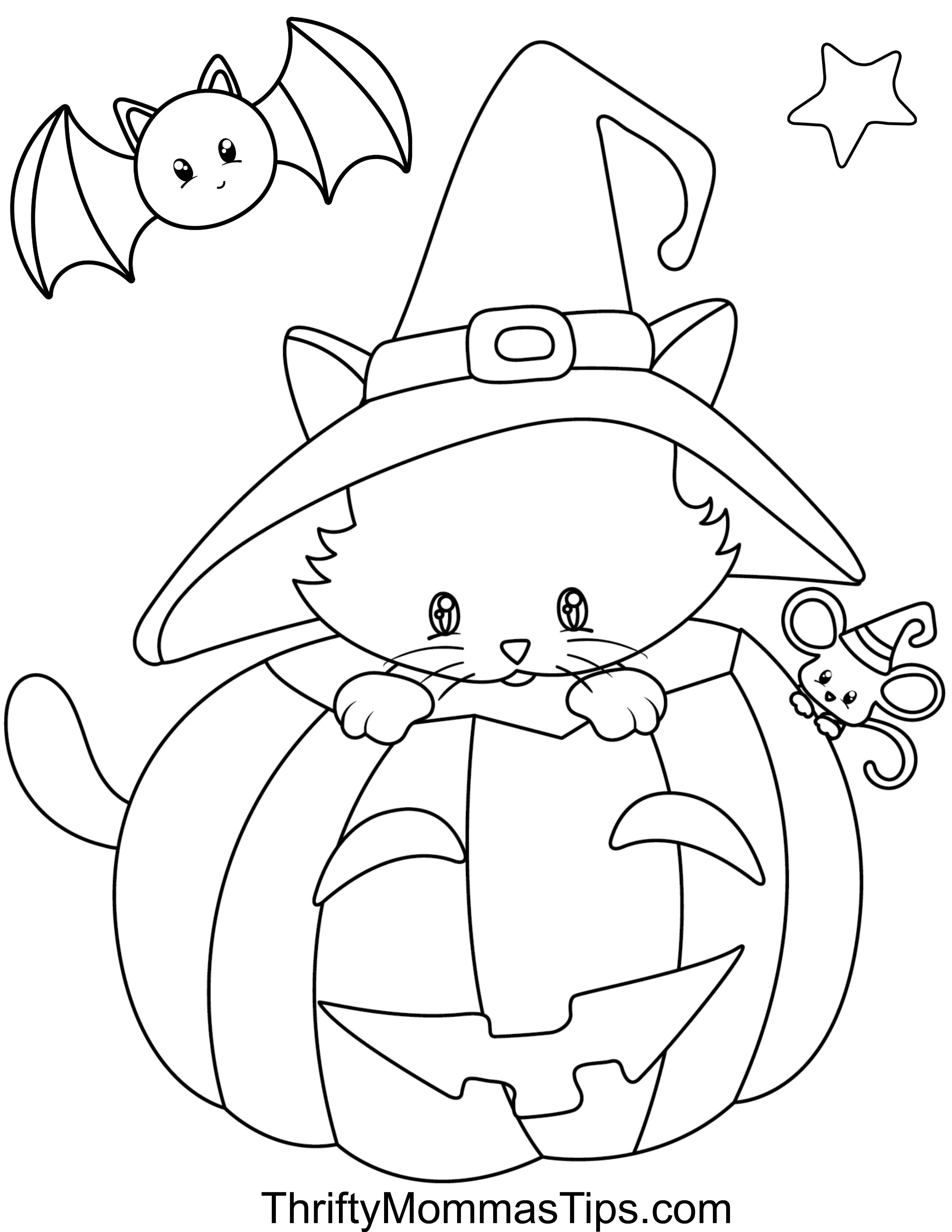 halloween cat coloring pages halloween cat coloring pages free printable coloring home halloween pages coloring cat