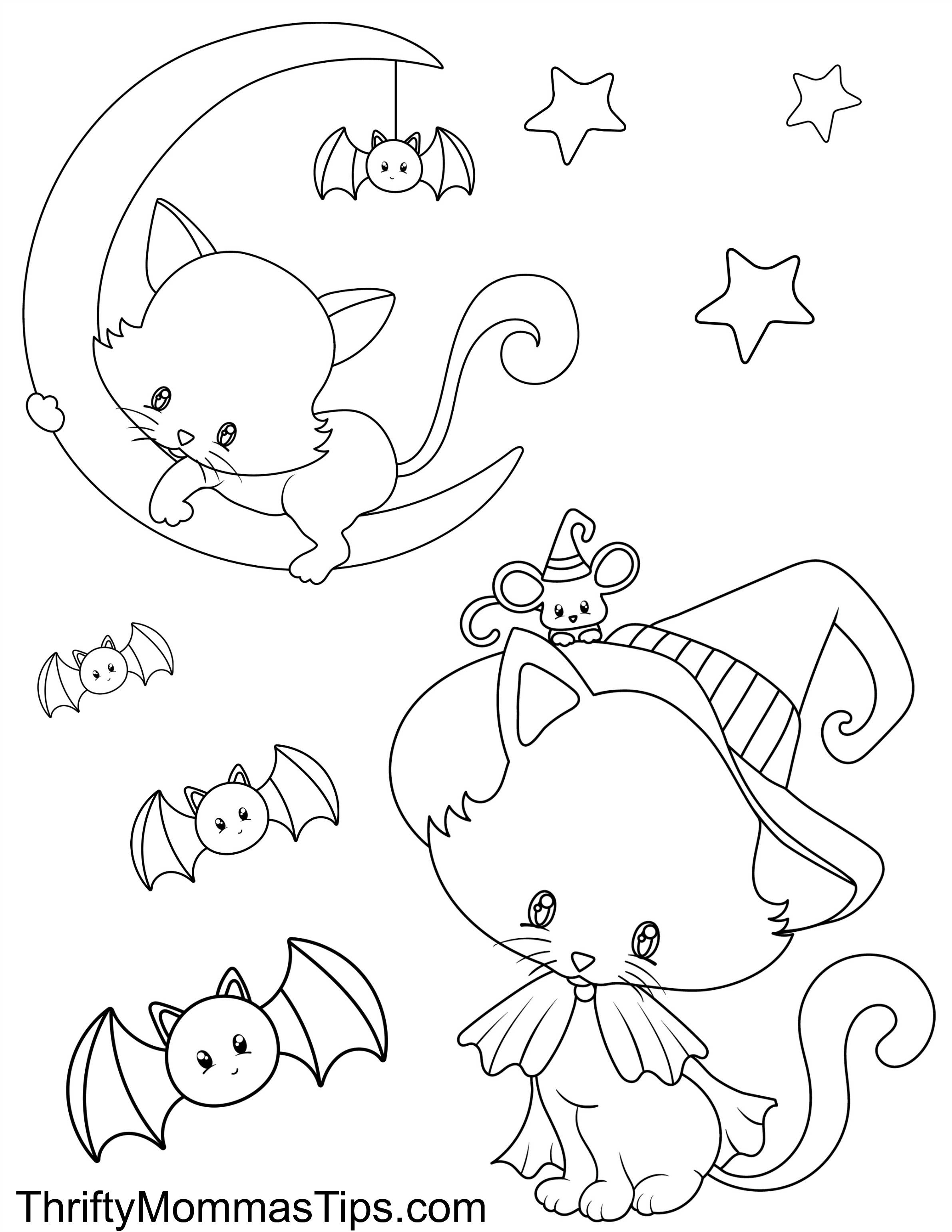 halloween cat coloring pages halloween coloring pages boo cat coloring print color craft cat pages coloring halloween
