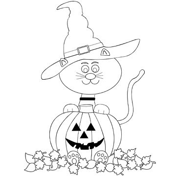 halloween cat coloring pages print download the benefit of cat coloring pages pages halloween coloring cat