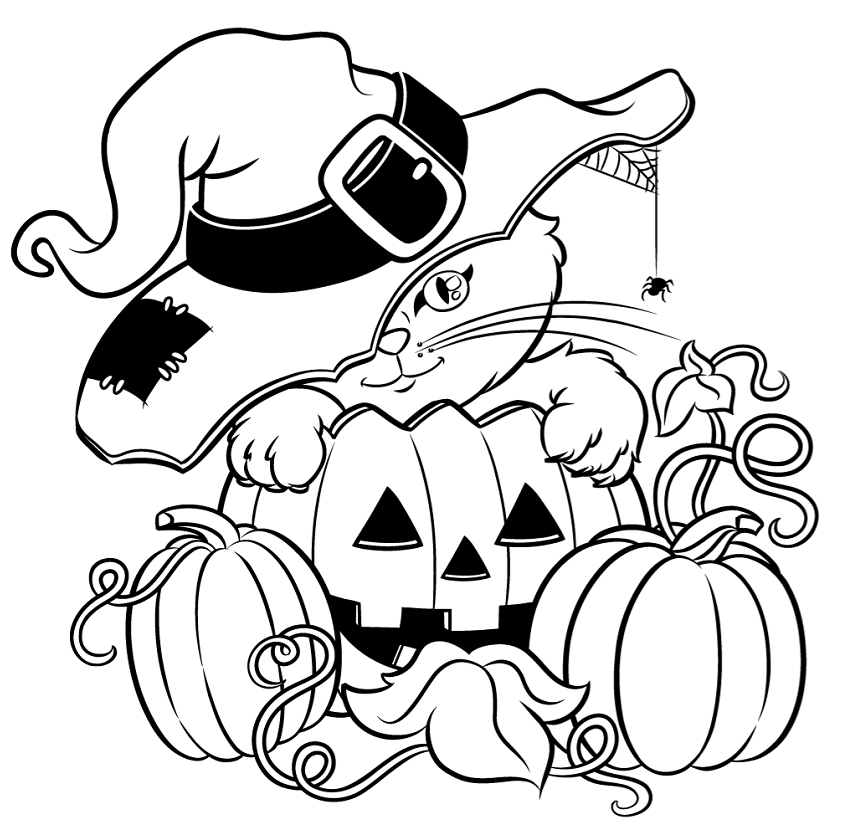 halloween cat coloring pages printable halloween cat coloring page for kids 1 supplyme cat halloween pages coloring