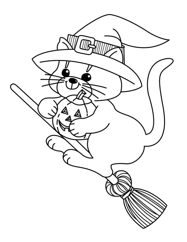halloween cat coloring pages scary halloween pumpkin coloring pages team colors pages coloring halloween cat