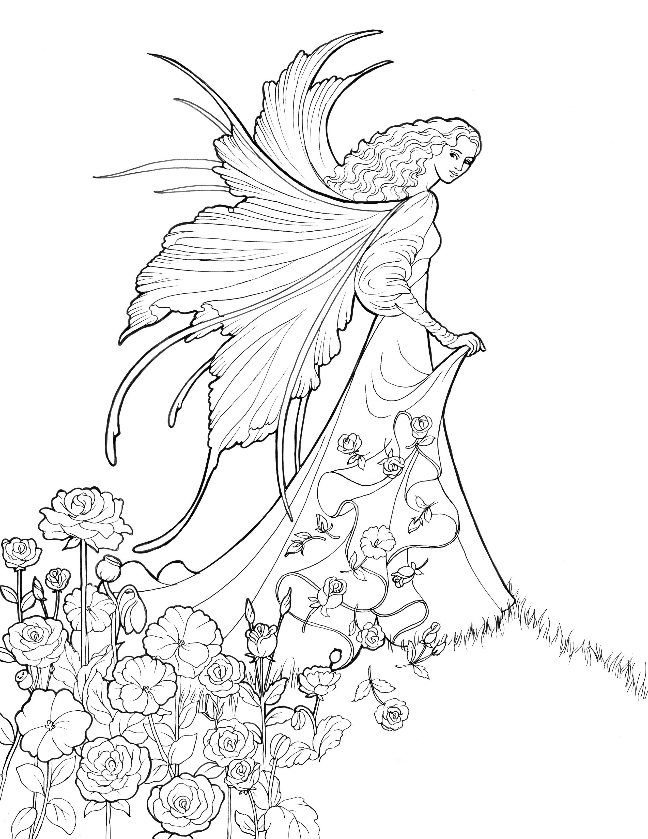 halloween fairy coloring pages pin by beth conroy on color fairiesangels halloween fairy halloween pages coloring