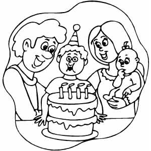 happy 4th birthday coloring pages happy 4th birthday coloring pages at getcoloringscom 4th pages happy birthday coloring