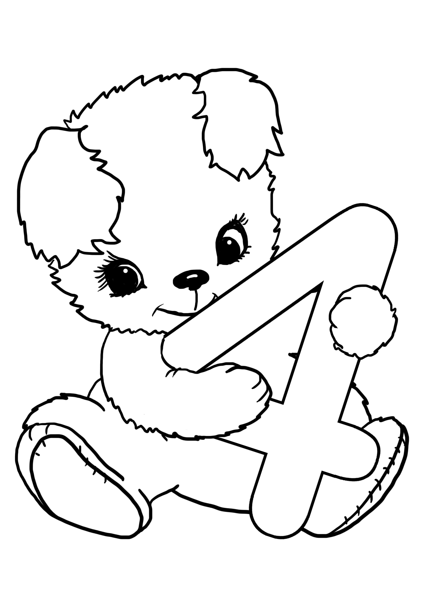 happy 4th birthday coloring pages happy 4th birthday coloring pages at getcoloringscom coloring happy 4th birthday pages