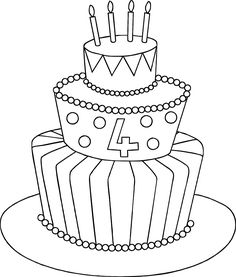 happy 4th birthday coloring pages happy 4th birthday coloring pages at getcoloringscom happy 4th birthday coloring pages