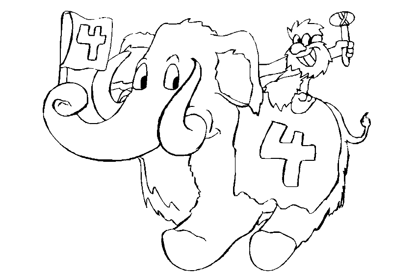 happy 4th birthday coloring pages happy 4th birthday coloring pages at getdrawingscom birthday 4th coloring pages happy