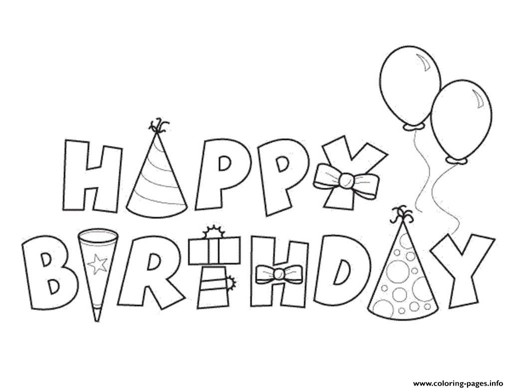 happy birthday coloring letters 30 beautiful happy birthday coloring card in 2020 with coloring letters birthday happy