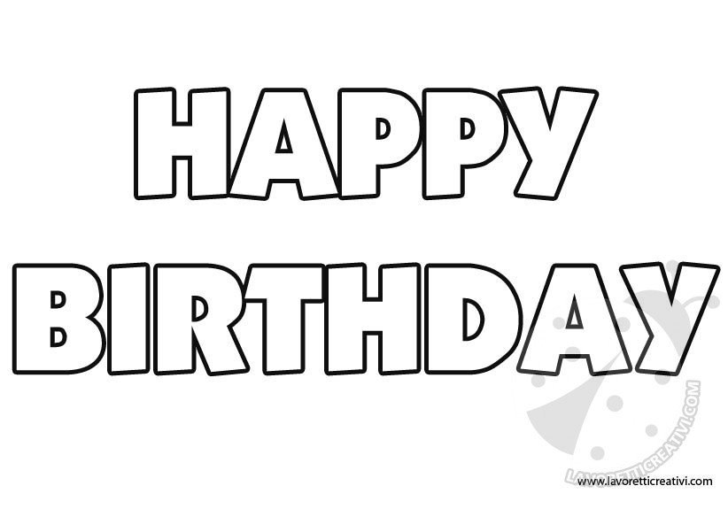 happy birthday coloring letters adult cake coloring pages happy birthday free printable coloring birthday letters happy