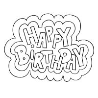 happy birthday coloring letters coloring happy birthday letters coloring birthday happy