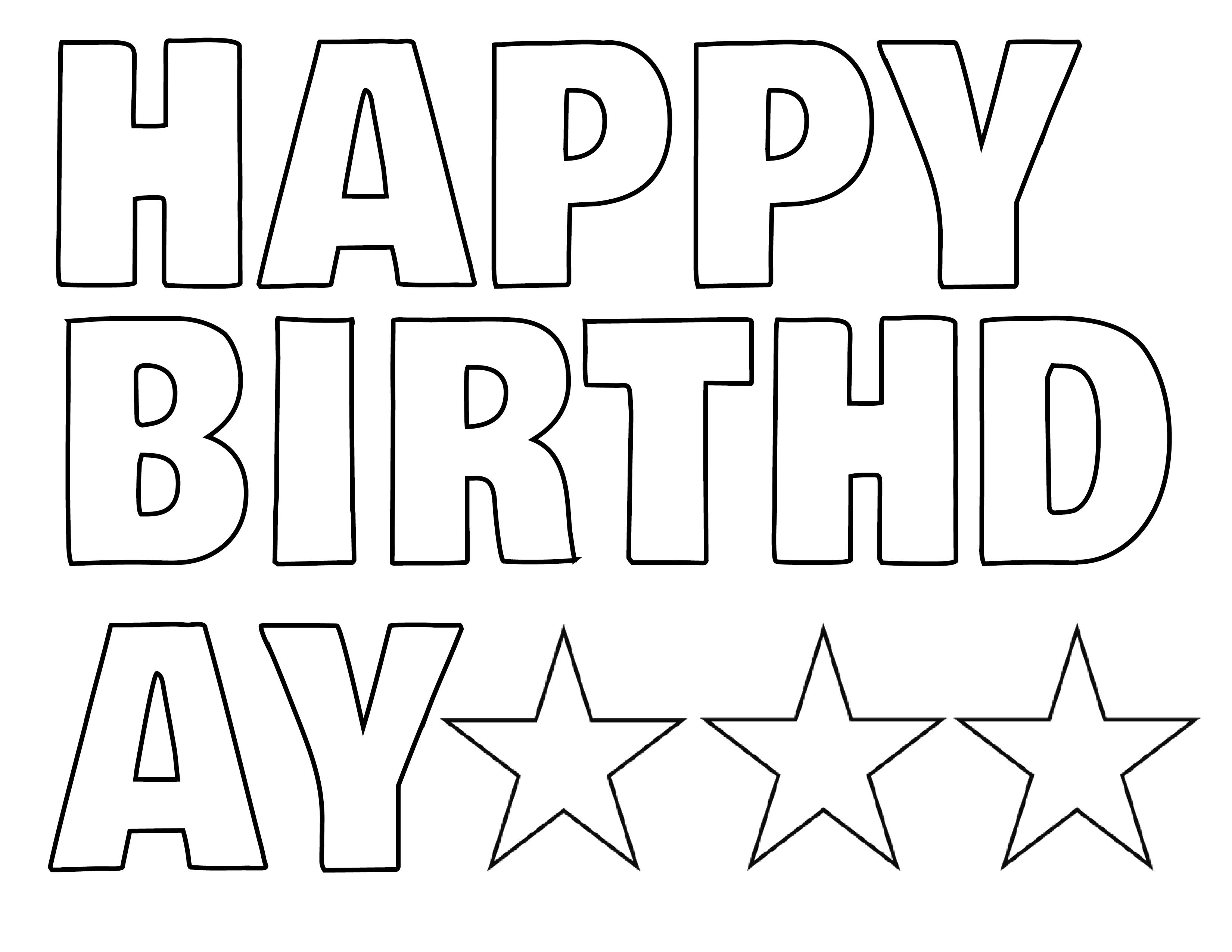 happy birthday coloring letters happy birthday balloons with letters coloring page for happy coloring letters birthday
