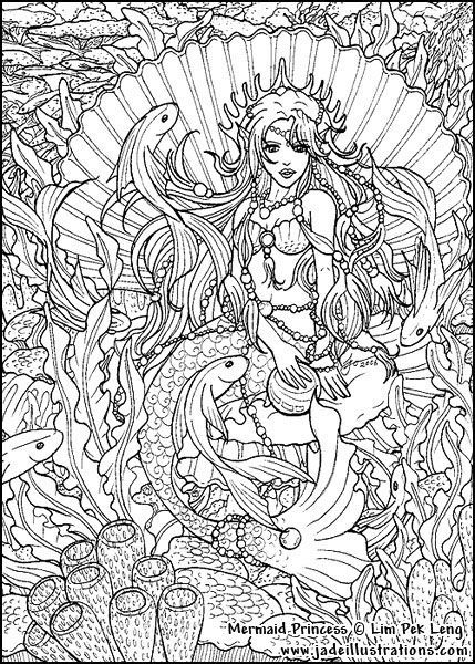 hard advanced mermaid coloring pages 258 best images about artist selina fenech coloring on pages coloring mermaid hard advanced