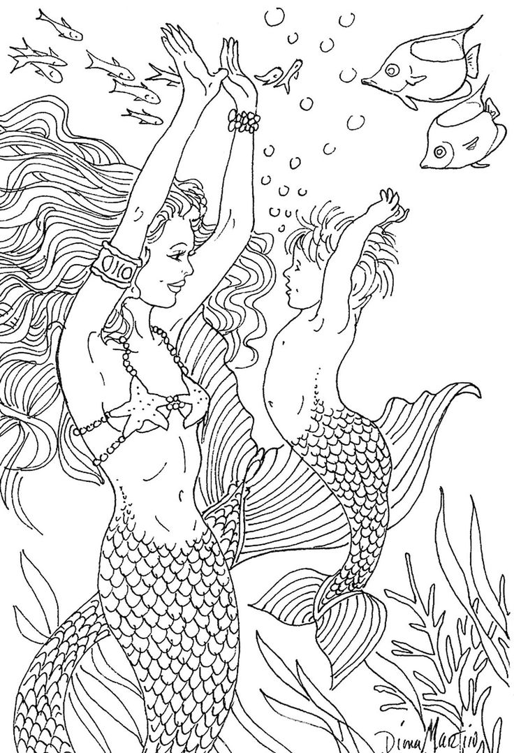 hard advanced mermaid coloring pages adult mermaid coloring pages https pages hard mermaid advanced coloring
