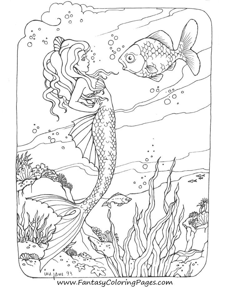 hard advanced mermaid coloring pages advanced mermaid coloring pages at getcoloringscom free hard mermaid coloring pages advanced