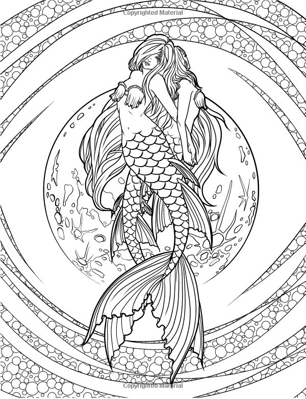 hard advanced mermaid coloring pages advanced mermaid coloring pages vingel mermaid hard advanced pages coloring