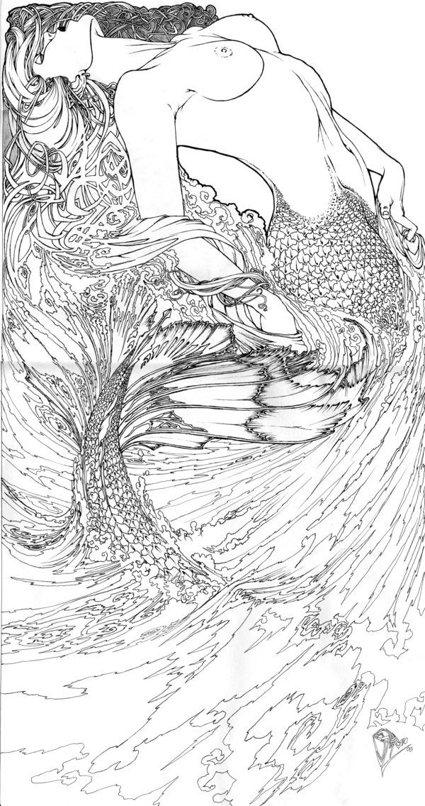 hard advanced mermaid coloring pages detailed mermaid coloring pages for adults top free mermaid advanced pages coloring hard