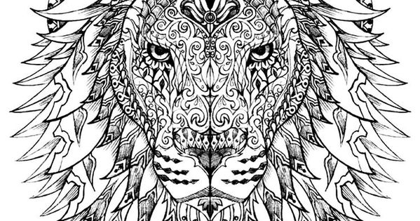hard lion coloring pages 17 best adult coloring pages images on pinterest lion pages coloring hard