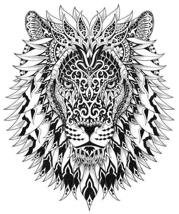 hard lion coloring pages coloring adult lion head 2 free to print coloring pictures hard coloring lion pages