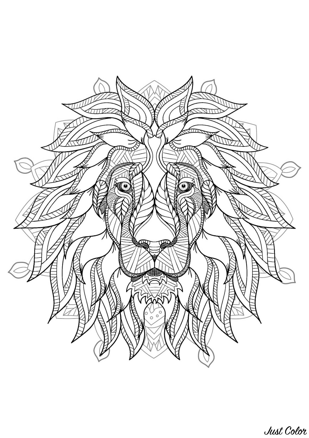 hard lion coloring pages lions coloring pages for adults hard coloring pages lion