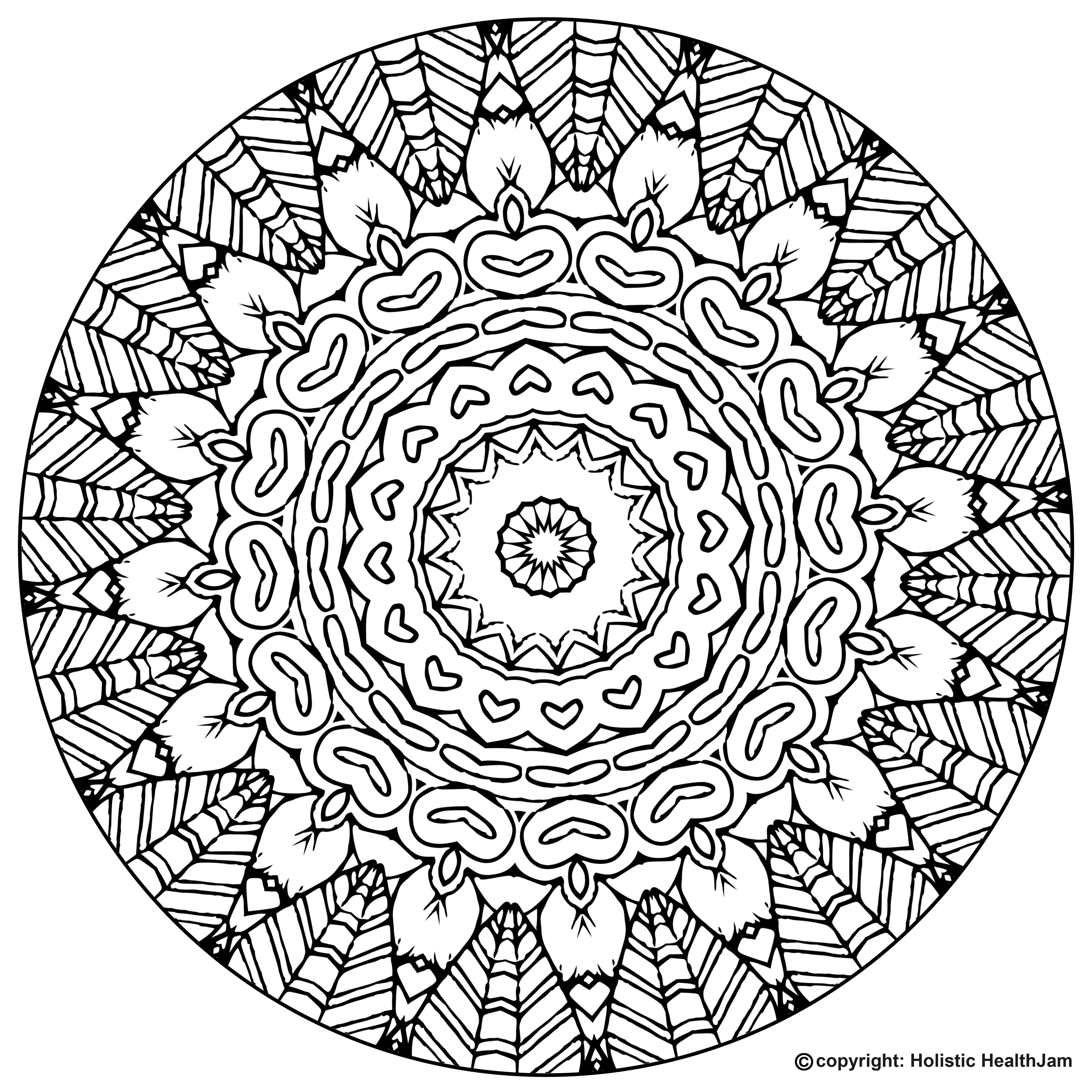 hard mandala coloring pages printable complex coloring pages for teens and adults best printable hard mandala coloring pages