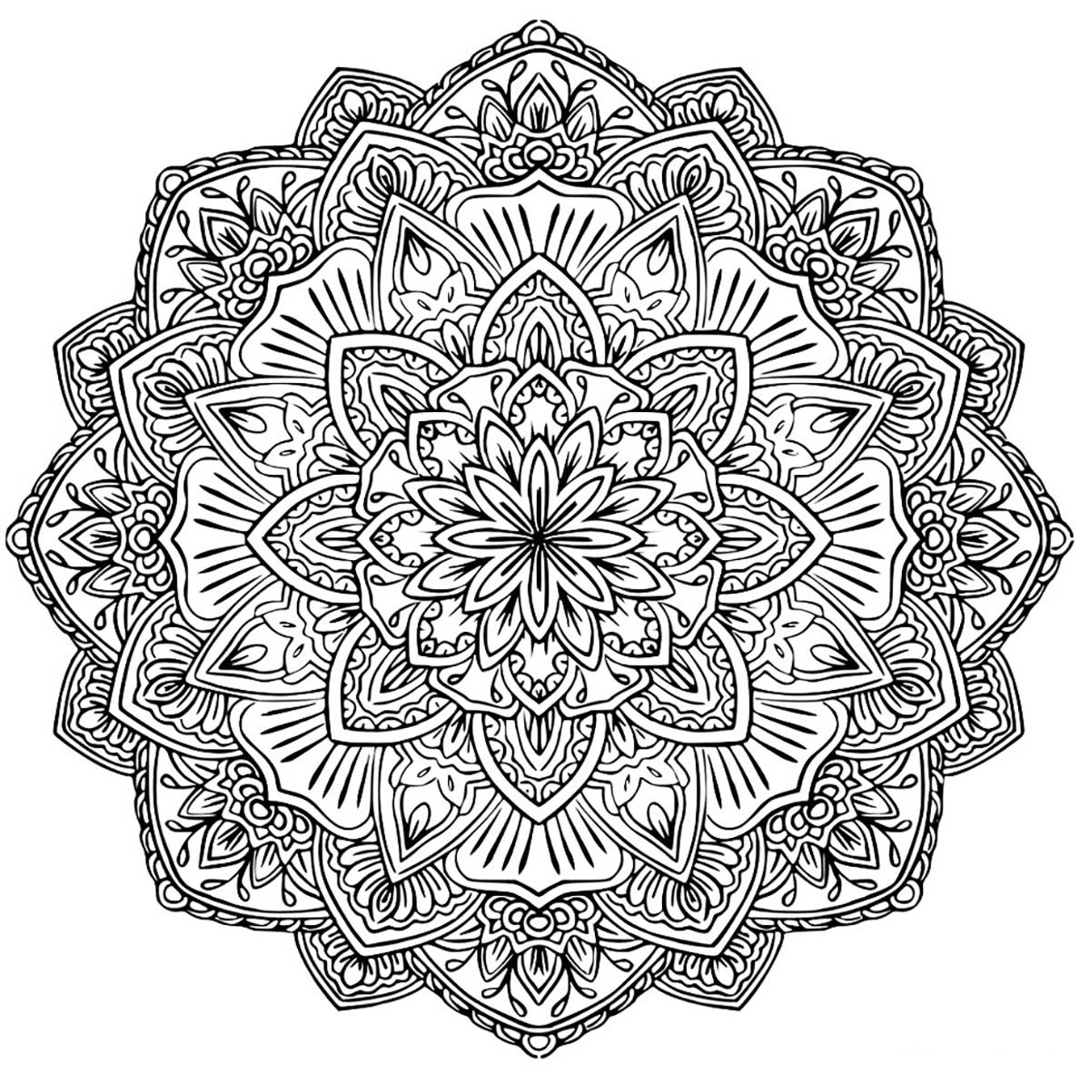 hard mandala coloring pages printable here is a nice variety of free printable coloring pages coloring printable hard pages mandala