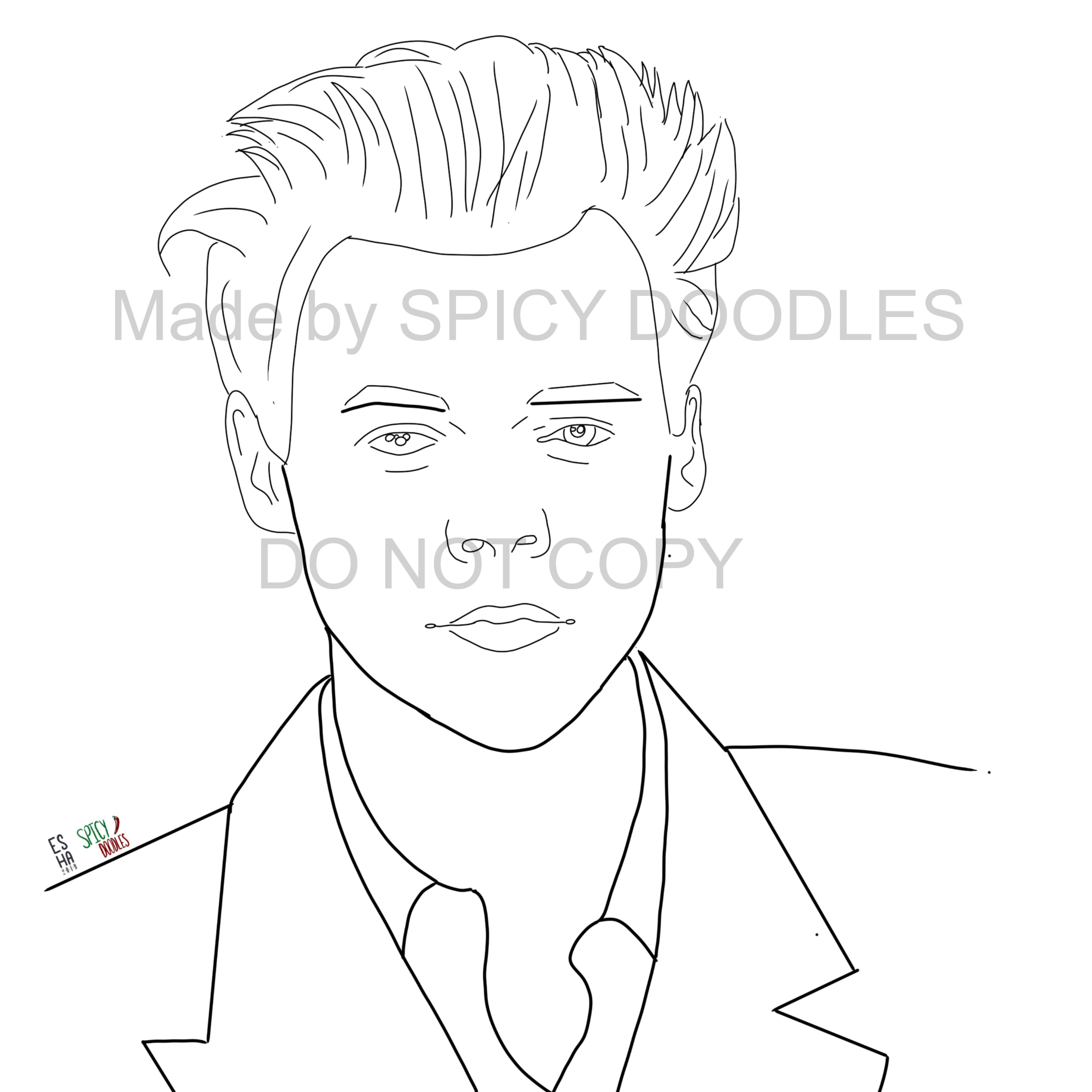 harry styles coloring page harry styles coloring page on storenvy coloring page styles harry