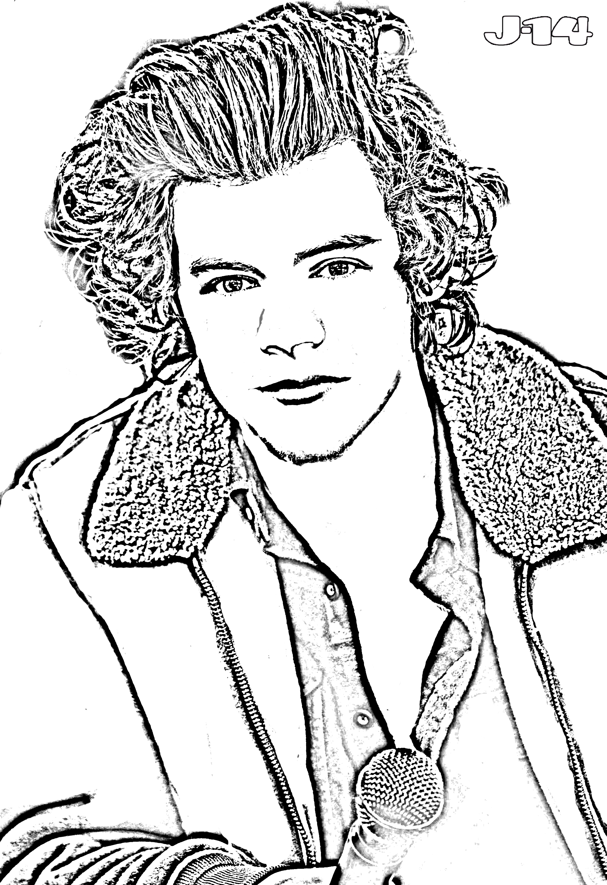 harry styles coloring page harry styles drawing at getdrawings free download styles harry coloring page