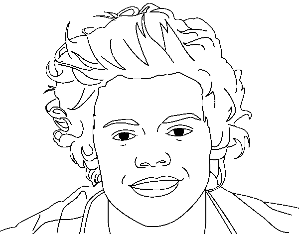 harry styles coloring page learn how to draw harry styles singers step by step harry coloring page styles