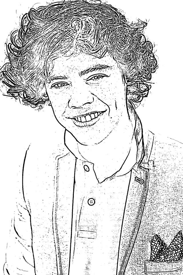 harry styles coloring page pin by chicken ravioli on ideas for drawing in 2020 styles page coloring harry