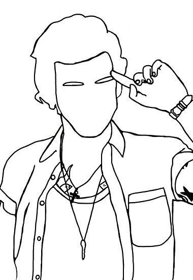 harry styles coloring page the best free elizabethgoodin drawing images download coloring page harry styles