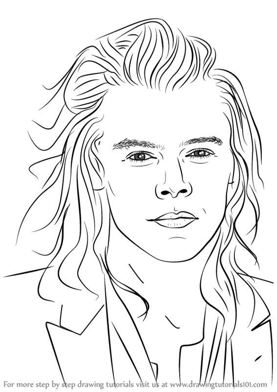 harry styles coloring page the holiday site coloring pages of one direction free and coloring styles page harry