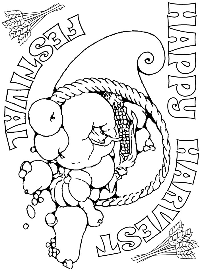 harvest colouring sheets thanksgiving harvest s726c coloring pages printable sheets colouring harvest