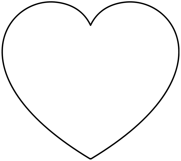 heart clipart coloring page free coloring hearts cliparts download free clip art heart page coloring clipart 1 1