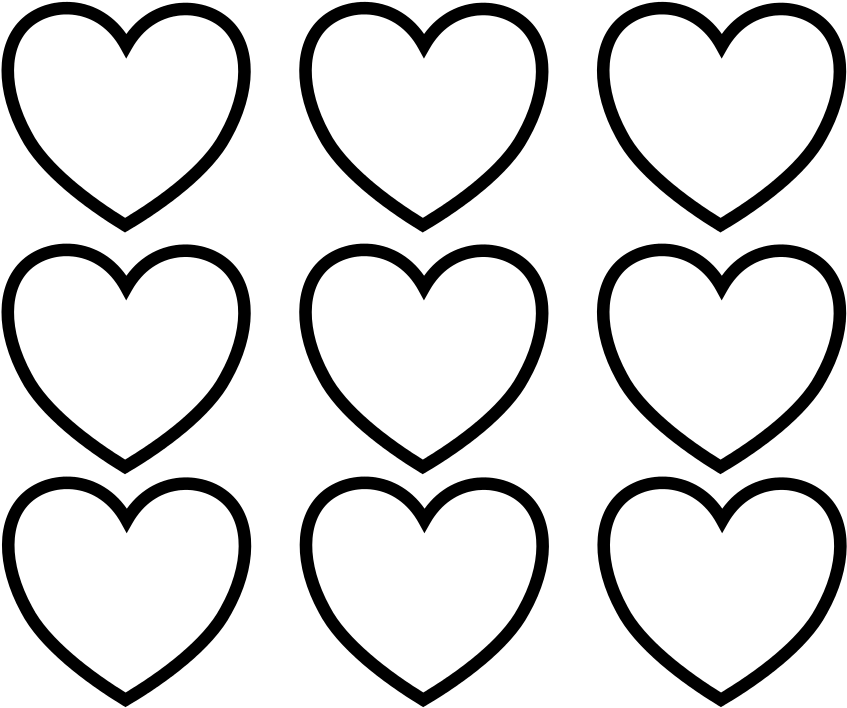 heart clipart coloring page heart coloring pages heart coloring pages valentine clipart coloring page heart