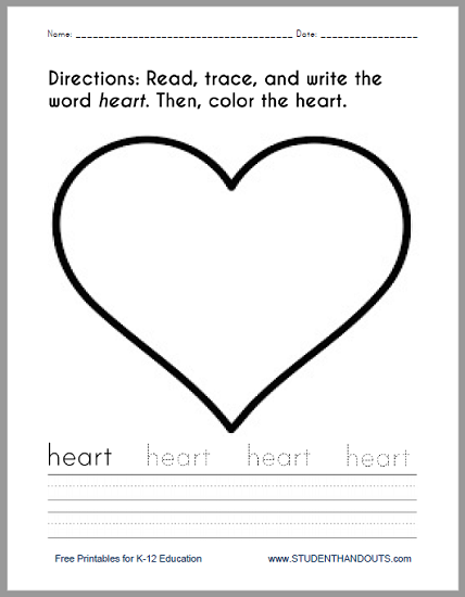 heart coloring worksheet color the hearts coloring page twisty noodle coloring heart worksheet