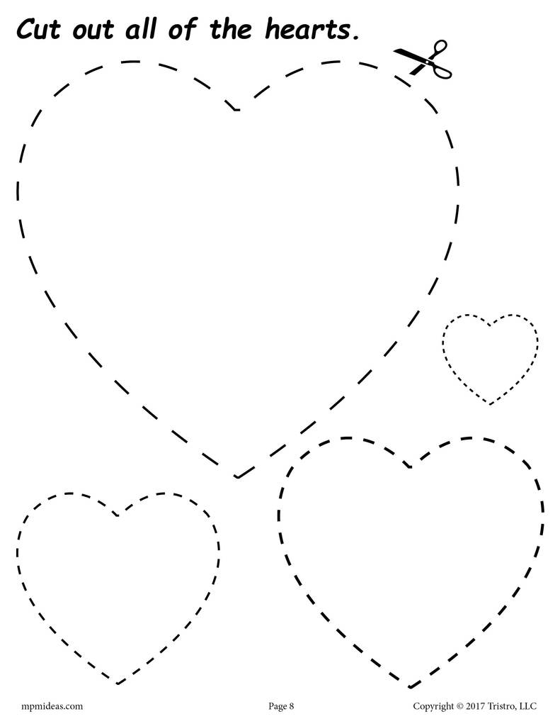 heart coloring worksheet heart coloring and writing worksheet student handouts coloring heart worksheet