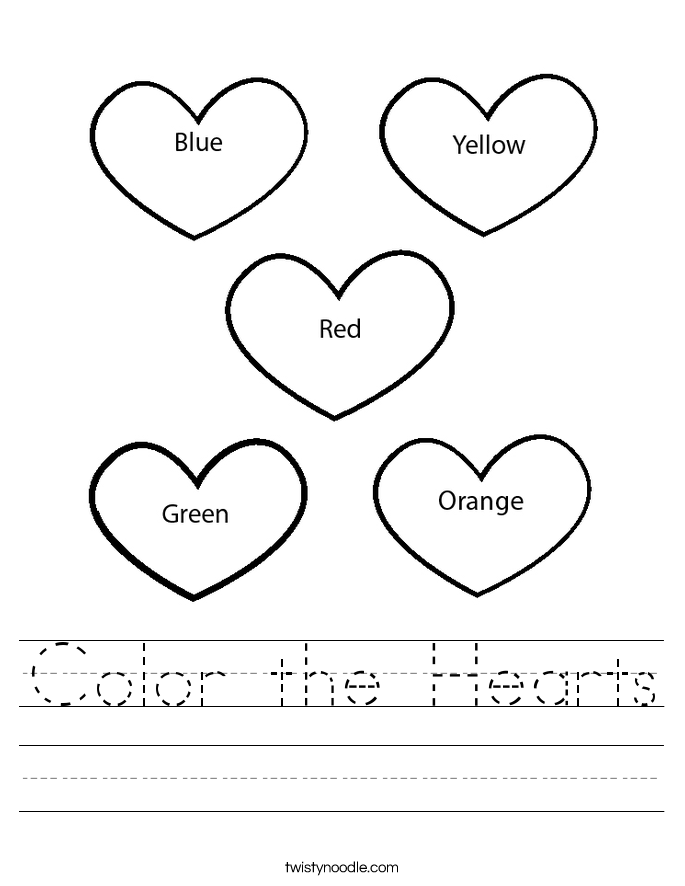 heart coloring worksheet valentine day alphabet valentine day free hearts heart worksheet coloring