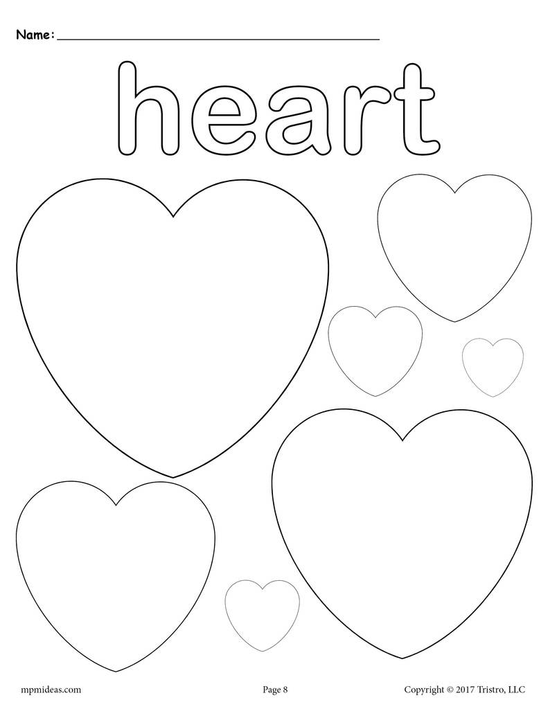 heart shape for coloring 35 free printable heart coloring pages for shape heart coloring