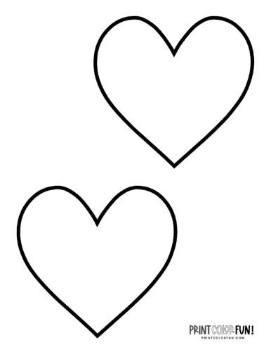 heart shape for coloring 56 heart shape coloring pages gallery for heart shapes to shape for heart coloring