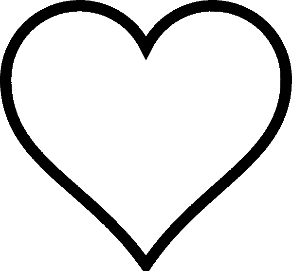 heart shape for coloring free printable heart coloring pages for kids shape for coloring heart